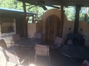 Communal Outdoor Dining