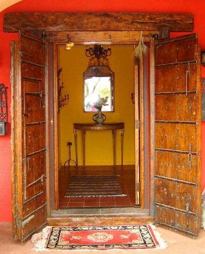 Black Arrow Ranch Doorway