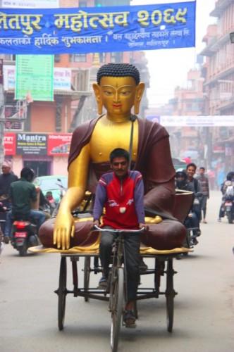 Buddha-bike