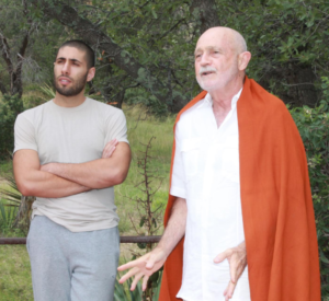 Culadasa and Jon - Cropped